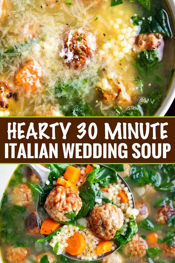 Italian Wedding Soup (Easy Weeknight Dinner Idea)