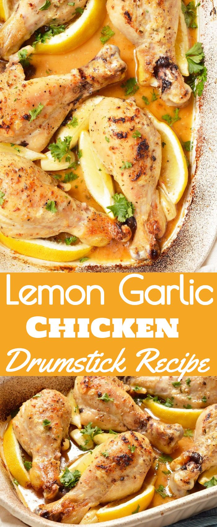 Lemon Garlic Chicken Drumstick Recipe