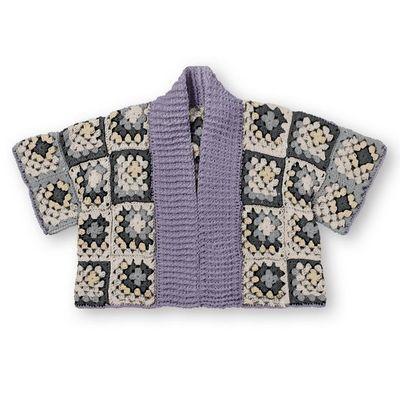 Pantone Crochet Kimono Cardigan Pattern