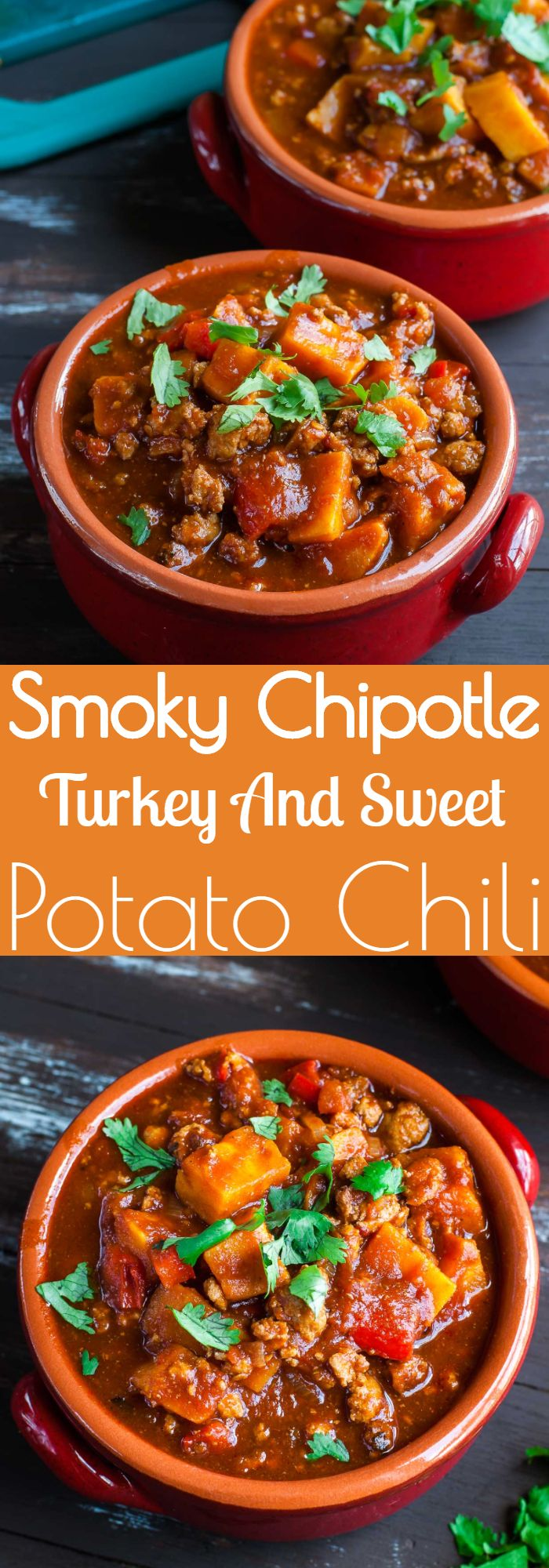 Smoky Chipotle Turkey And Sweet Potato