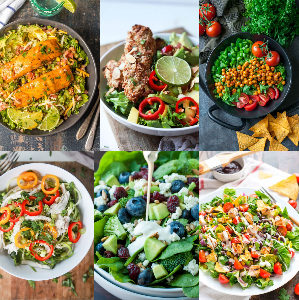 The Best Super Healthy Salads Ideas/ Salad Recipes/ Healthy Salads For Lunch