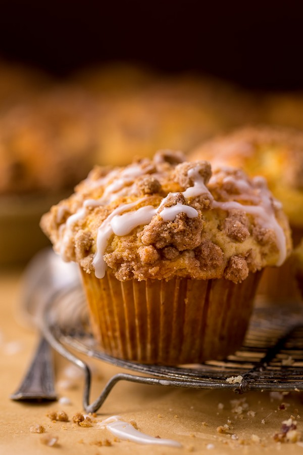 Bakery Style Coffee Cake Muffins