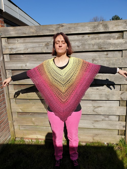 Crochet Poncho Woolly Whirl