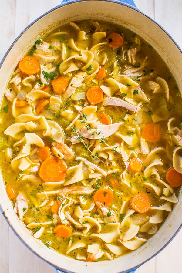 Easy 30 Minute Homemade Chicken Noodle Soup
