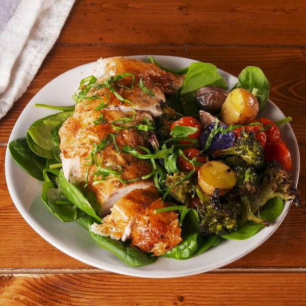 Tuscan Butter Roast Chicken