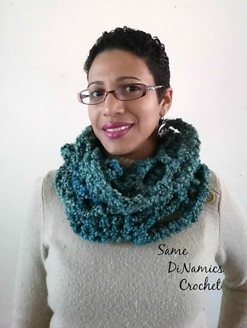 Crochet One-Skein Wonder Cowl