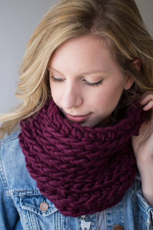 Crochet The Ridge Cowl