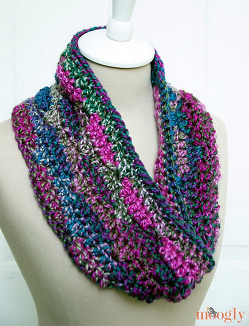 Luscious One Skein Cowl