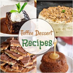 Toffee Dessert Recipes