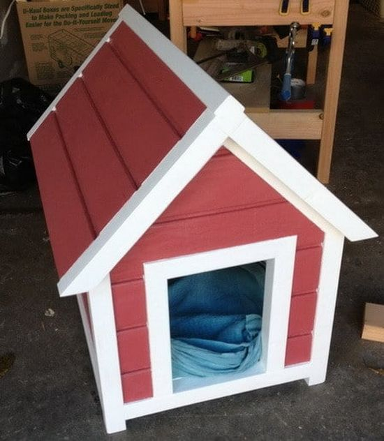 Build A Dog House Step By Step