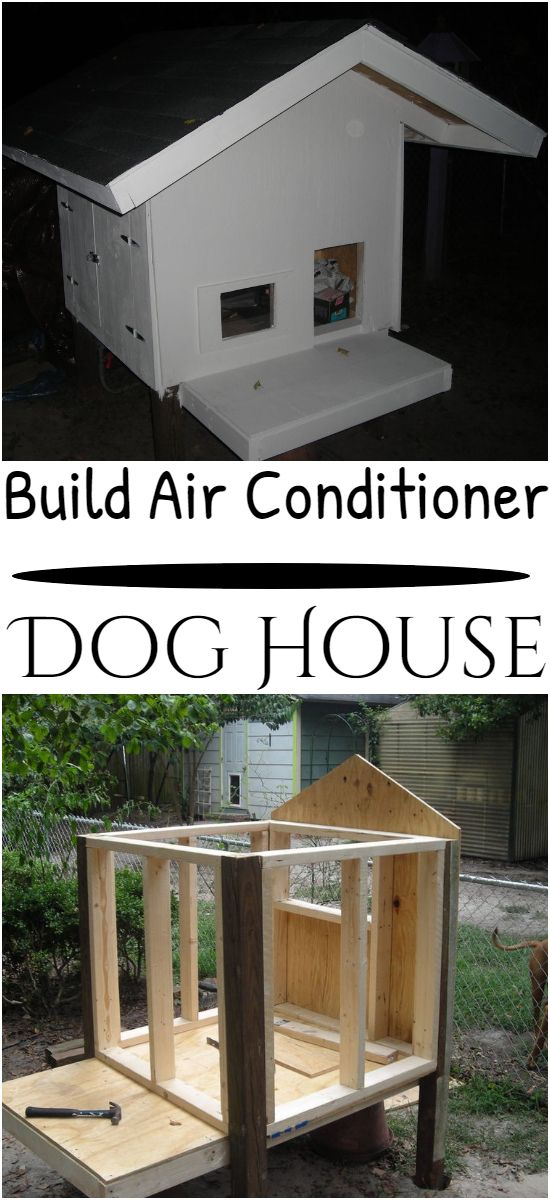 Build Air Conditioner Dog House