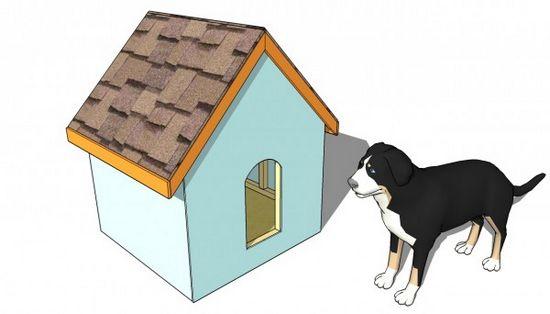 DIY Simple Dog House Plan