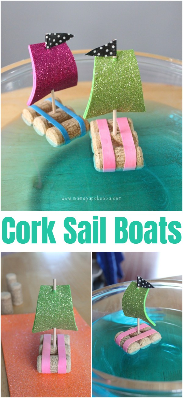 Cork Sail Boats