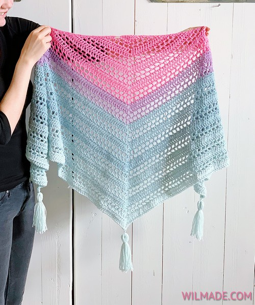 Crochet Such Simple Shawl