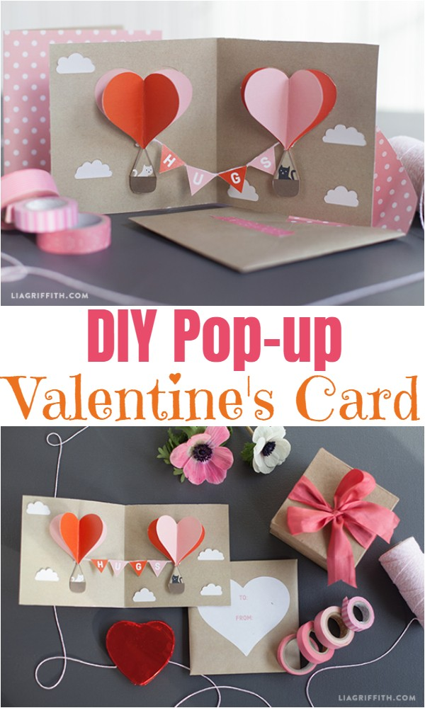 DIY Pop-up Valentine's Card