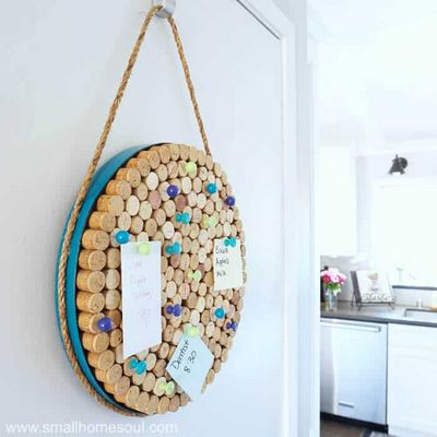 DIY Wine Cork Board Craft