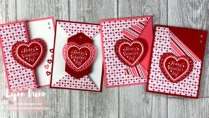 4 Simple DIY Fun Fold Cards To Perfect For Valentine's Day
