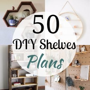 30 DIY Shelves Plans