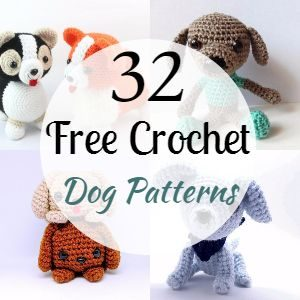 32 Free Crochet Dog Patterns