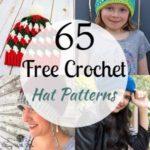 65 Crochet Hat Patterns