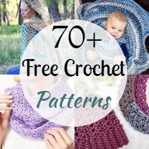 70+ Free Crochet Patterns