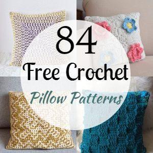 84 Free Crochet Pillow Patterns