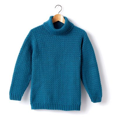 Adult Turtleneck Pullover Free Pattern