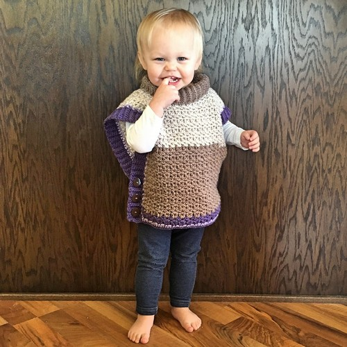 Crochet Amelia Poncho Sweater