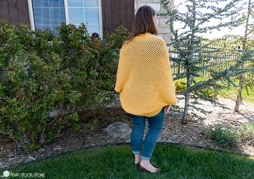 Crochet Cocoon Sweater