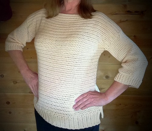 Crochet Homebody Sweater