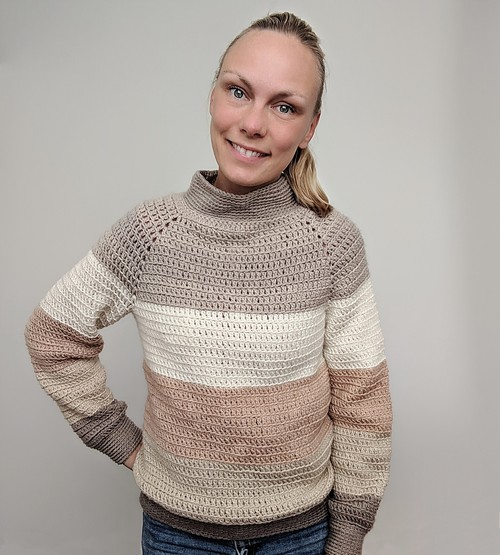 Crochet Karamell Sweater