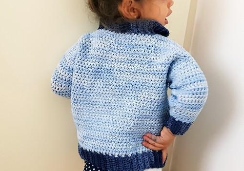Crochet Little Man Sweater