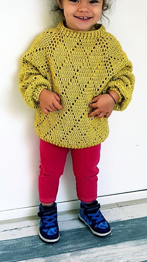 Crochet Mini Precious Sweater