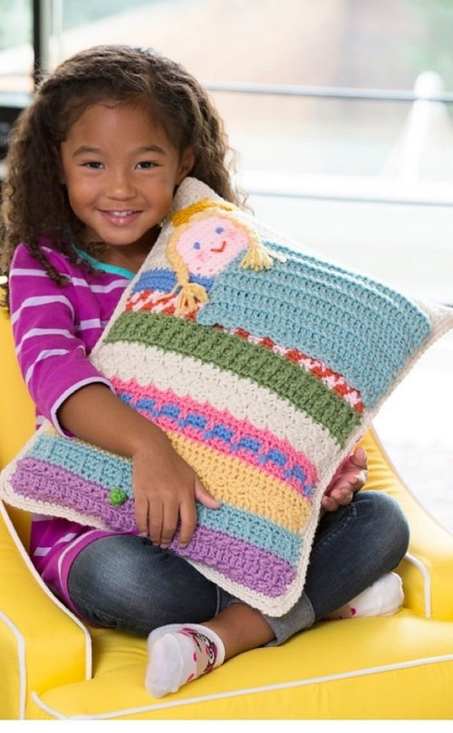 Crochet Princess And The Pea Pillow
