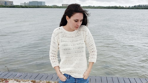 Crochet Sawgrass Sweater