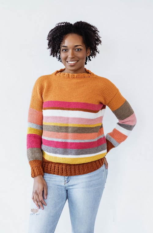 Crochet Sedona Sweater