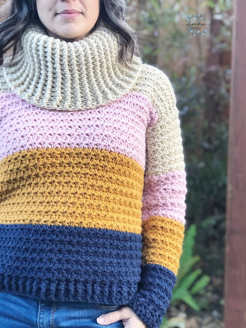 Crochet Sunset Sweater
