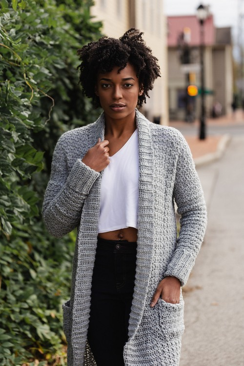 Crochet Sweater Weather Cardi