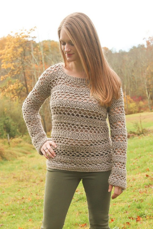 Crochet The Madeline Sweater