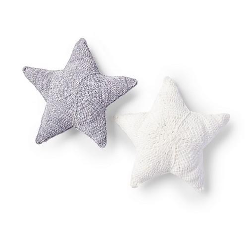 Crochet Twinkle Star Pillow