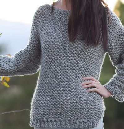 Easy Sweater pattern