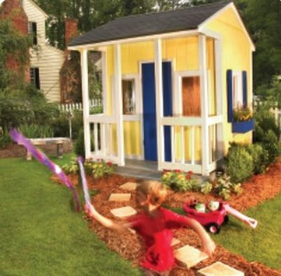 DIY Playhouse Plan For Your Kids