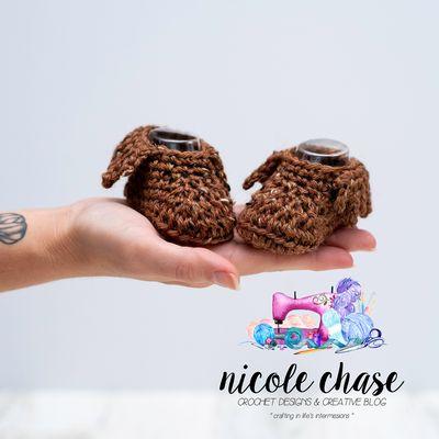 Little Warrior Crochet Moccs Free Pattern