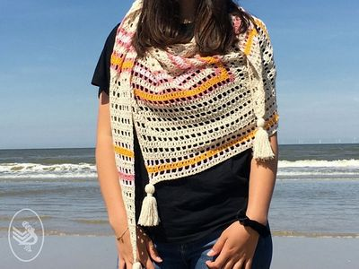 Meant To Be Crochet Shawl Free Pattern