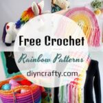 40 Best Free Crochet Rainbow Patterns