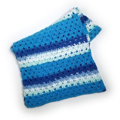 Calming Breezy Crochet Throw Pattern