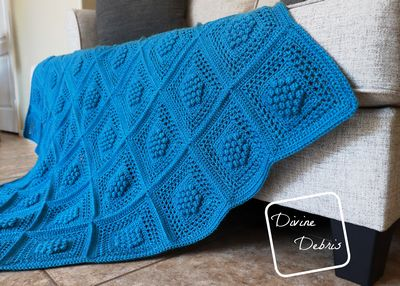 Winterberry Throw Crochet Pattern