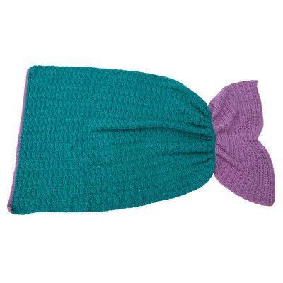 Crochet Mermaid Fantasy Blanket Free Pattern For Toddler