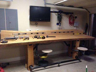 DIY Timber Workbench Plan