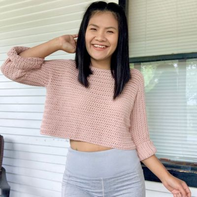 Beginner Friendly Sweater Free Pattern With Video Tutorial